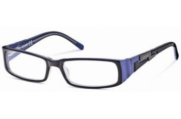 Just Cavalli JC0298 Eyeglass Frames - Blue Frame Color