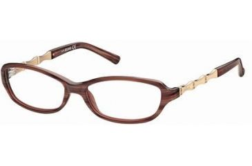 Just Cavalli JC0375 Eyeglass Frames - Dark Brown Frame Color