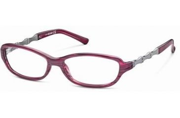 Just Cavalli JC0375 Eyeglass Frames - Violet Frame Color