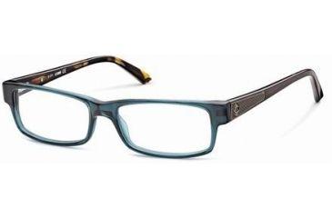 Just Cavalli JC0377 Eyeglass Frames - Shiny Turquoise Frame Color