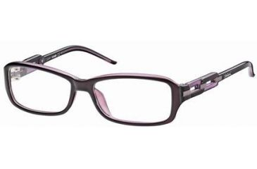 Just Cavalli JC0383 Eyeglass Frames - Shiny Violet Frame Color