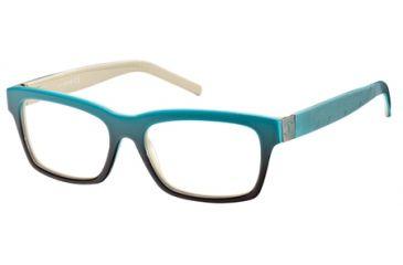 Just Cavalli JC0448 Eyeglass Frames - Dark Green Frame Color