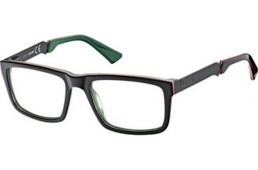 Just Cavalli JC0449 Eyeglass Frames - Black Frame Color