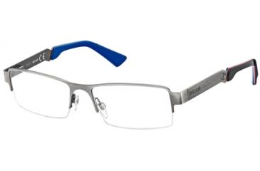 Just Cavalli JC0450 Eyeglass Frames - Shiny Gun Metal Frame Color