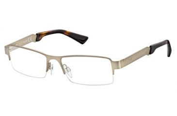Just Cavalli JC0450 Eyeglass Frames - Shiny Dark Brown Frame Color