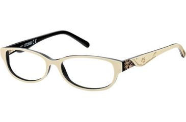 Just Cavalli JC0452 Eyeglass Frames - White Frame Color