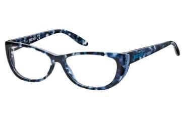 Just Cavalli JC0454 Eyeglass Frames - Coloured Havana Frame Color