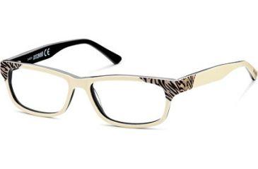 Just Cavalli JC0458 Eyeglass Frames - White/Black Frame Color