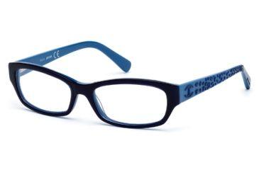 Just Cavalli JC0521 Eyeglass Frames - Blue Frame Color