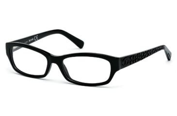 Just Cavalli JC0521 Eyeglass Frames - Shiny Black Frame Color