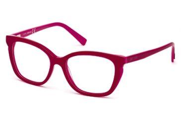 Just Cavalli JC0523 Eyeglass Frames - Bordeaux Frame Color