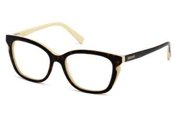 Just Cavalli JC0523 Eyeglass Frames - Havana Frame Color