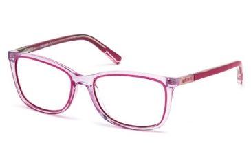 Just Cavalli JC0530 Eyeglass Frames - Shiny Lilac Frame Color