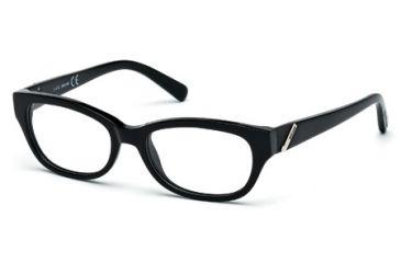 Just Cavalli JC0537 Eyeglass Frames - Matte Black Frame Color