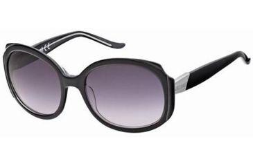 Just Cavalli JC339S Sunglasses - Black Frame Color, Gradient Smoke Lens Color