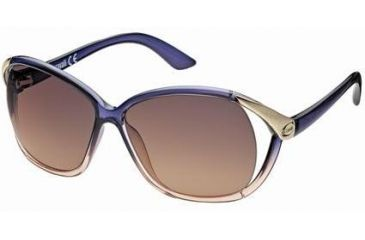 Just Cavalli JC398S Sunglasses - Violet Frame Color, Gradient / Mirror Violet Lens Color