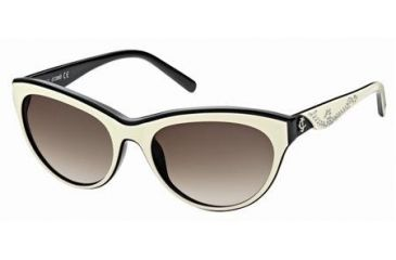 Just Cavalli JC409S Sunglasses - Ivory Frame Color