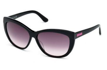 Just Cavalli JC499S Sunglasses - Shiny Black Frame Color, Gradient Smoke Lens Color