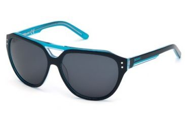 Just Cavalli JC505S Sunglasses - Black Frame Color, Smoke Lens Color
