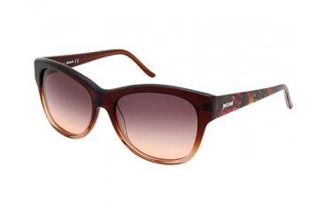 Just Cavalli JC634S Sunglasses - Dark Brown Frame Color, Gradient Brown Lens Color