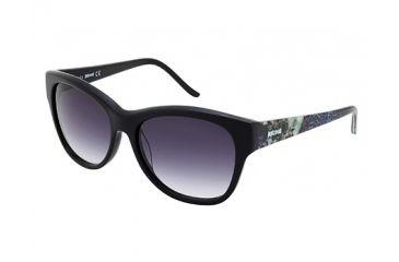 Just Cavalli JC634S Sunglasses - Shiny Black Frame Color, Gradient Smoke Lens Color