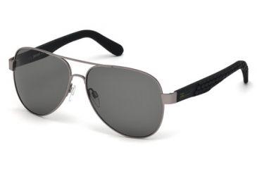 efbafb3c7d1 Just Cavalli JC650S Sunglasses - Shiny Gun Metal Frame Color