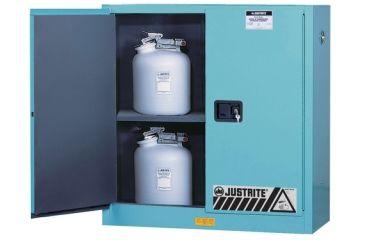 Justrite Cabinet Man Bl Acid 45g 8945022, Unit EA