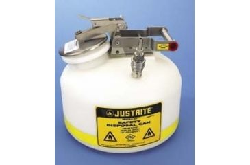 Justrite Centura Prefabricated Quick-Disconnect Safety Disposal Cans, Justrite PP12755 Round Safety Disposal Cans