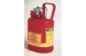 Justrite Type I Nonmetallic Safety Cans, Justrite 14160 Cans With Stainless Steel Fittings