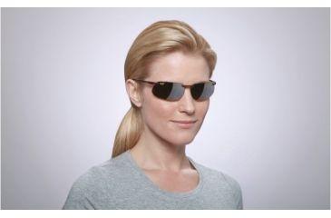 Maui Jim Kanaha Sunglasses w/ Tortoise Frame and HCL Bronze Lenses - H409-10, On Model