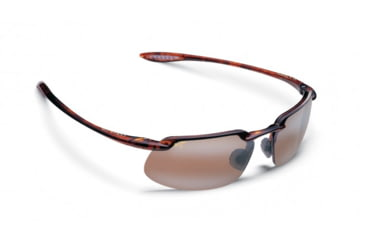 Maui Jim Kanaha Sunglasses w/ Tortoise Frame and HCL Bronze Lenses - H409-10, Quarter View