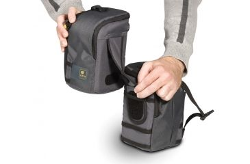 Kata Shoulder bag for stills camera and a video camcorder in a single bag that can be split in two