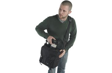 Kata Pro-Light ReportIT Reporter Bag - Easy Access View 1 - KT-PL-RPT-10