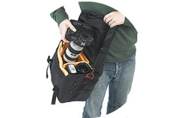 Kata Pro-Light ReportIT Reporter Bag - Easy Access View 1