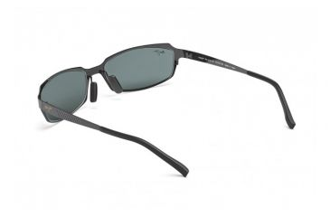 Maui Jim Keiki Sunglasses w/ Gunmetal Frame and Neutral Grey Lenses - 213-02, Back View