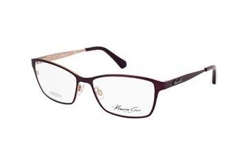 Kenneth Cole KC0206 Eyeglass Frames - Black Frame Color