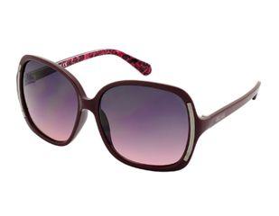 Kenneth Cole KC2723 Sunglasses - Bordeaux Frame Color, Gradient Smoke Lens Color