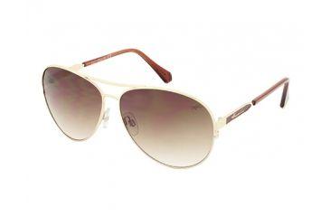 Kenneth Cole KC7158 Sunglasses - Gold Frame Color, Gradient Brown Lens Color