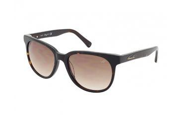 Kenneth Cole KC7161 Sunglasses - Dark Havana Frame Color, Gradient Brown Lens Color