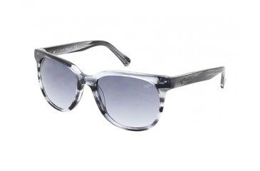 Kenneth Cole KC7161 Sunglasses - Grey Frame Color, Gradient Smoke Lens Color
