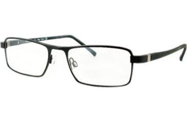 Kenneth Cole New York KC0156 Eyeglass Frames - Matte Black Frame Color