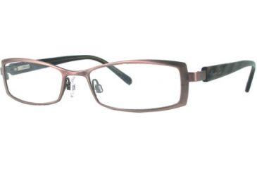 Kenneth Cole New York KC0173 Eyeglass Frames - Shiny Light Brown Frame Color