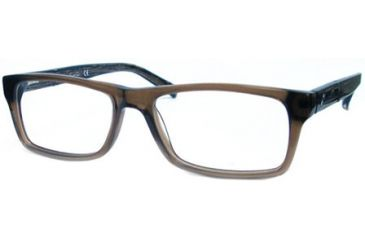 Kenneth Cole New York KC0174 Eyeglass Frames - Shiny Dark Brown Frame Color