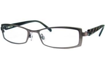 Kenneth Cole New York KC0175 Eyeglass Frames - Shiny Dark Brown Frame Color