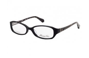 Kenneth Cole New York KC0182 Eyeglass Frames - Shiny Black Frame Color