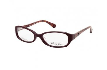 Kenneth Cole New York KC0182 Eyeglass Frames - Shiny Bordeaux Frame Color