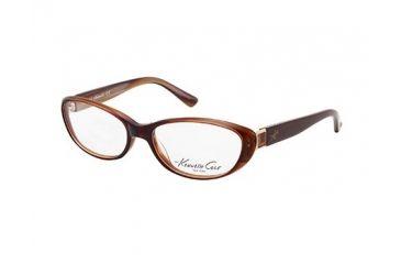 Kenneth Cole New York KC0189 Eyeglass Frames - Dark Brown Frame Color
