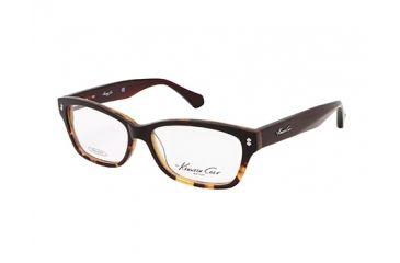Kenneth Cole New York KC0198 Eyeglass Frames - Dark Brown Frame Color