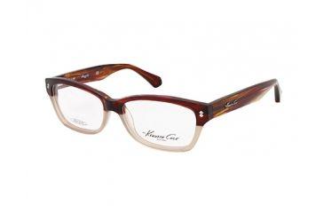 Kenneth Cole New York KC0198 Eyeglass Frames - Light Brown Frame Color