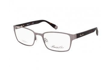 Kenneth Cole New York KC0200 Eyeglass Frames - Matte Dark Green Frame Color, Clear Lens Color